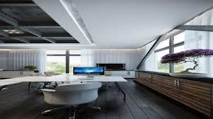 futuristic home office. fabulous home workspace inspiration white futuristic office u