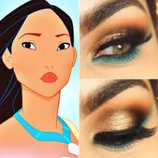 if you like disney princess makeup you might love these ideas