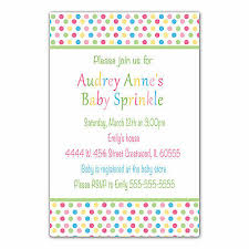 Polka Dot Invitations 30 Polka Dot Invitation Cards Baby Shower Or Sprinkle Invite
