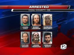 Six people arrested in Coal Co. for meth distribution