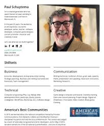 Paul Schuytema – Cakeresume Featured Resumes
