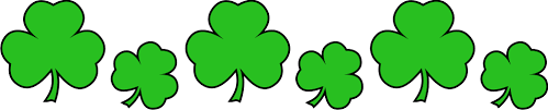 Image result for public domain images free clipart shamrock