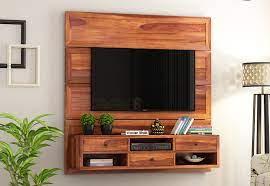 snapple wall mount tv unit honey