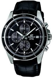 casio edifice for men analog leather band watch efr 526l 1av casio edifice for men analog leather band watch efr 526l 1av