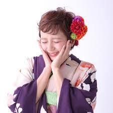 髪飾りを味方にショートでも可愛い浴衣ヘアアレンジ Naver まとめ