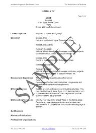 How To Write An Easy Resume Templates Toreto Co Curriculum Vitae