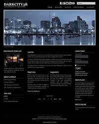 tamplate responsive free joomla 3 3 8 template a4joomla darkcity3r free