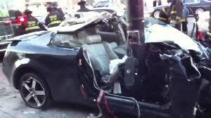 Horrific car crash in Chicago (Aftermath) - YouTube