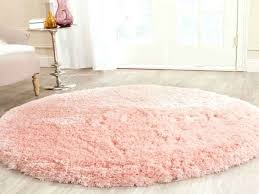 round pink rug. Pink Round Rug Light Shag Area Rugs From Fuzzy .