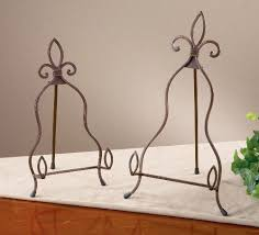 Small Plate Display Stand Fascinating Small York Metal Easel Display Stand Plate Holder EBay