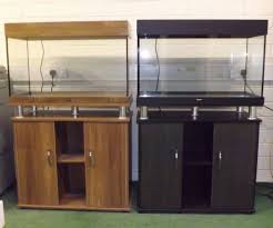 Cabinet And Lighting Brand New 125L Aquarium With Cabinet And Lighting Bargain F