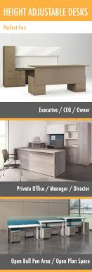 boss tableoffice deskexecutive deskmanager. Height Adjustable Desks Add Style And Functionality To Any Environment -- There Are Ideal Designs Boss Tableoffice Deskexecutive Deskmanager