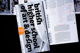 Higher Image Design British Higher School Of Art Design Brchures On Behance