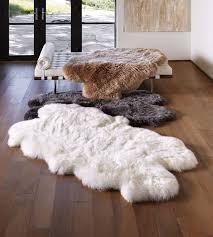 large sheepskin rug australia area designs