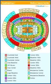 Stubhub Msg Seating Chart Madison Square Garden Seating Chart Withadhd Co