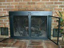 fireplace fireplace door glass custom doors screens steps to install and custom glass fireplace doors h