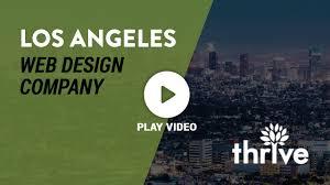 Thrive Web Design Los Angeles Web Design Company