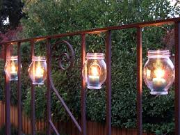 2 hanging jar lights outdoor garden lighting ideas99 garden