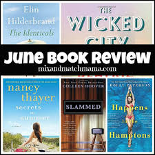 April Book Review Mix and Match Mama