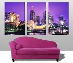 melbourne triptych wall art on wall art prints australia with melbourne triptych wall art prints australia