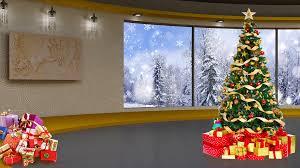 photo studio christmas background. Unique Studio Christmas TV Studio Set 05  Virtual Green Screen Background Loop Stock  Video Footage Videoblocks In Photo T