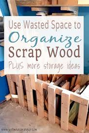 make a diy s wood bin with wasted garage space