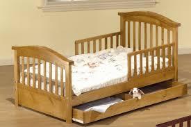 sorelle joel pine toddler bed with storage  reviews  wayfair