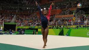 Qualifications Simone Biles scores highest on floor NBC Olympics