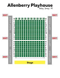 George Street Playhouse Seating Chart Seating Chart Keystone Theatrics