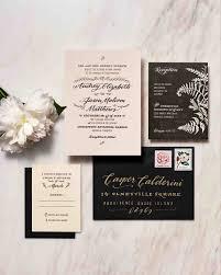5 Invitations Inspired By Wedding Locations Martha Stewart Weddings