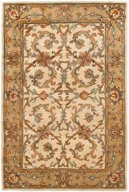 safavieh heritage area rug traditional area rugs heritage collection beige gold safavieh heritage blue brown area rug