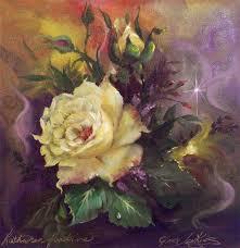 gary jenkins 1962 still life of flowers oil painting