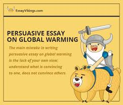 persuasive essay on global climate change