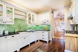Although a colorful backsplash has immediate impact, a neutral backsplash  can add just as much character to your space.