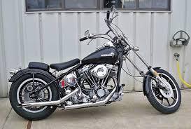 1979 harley shovelhead fxs short chop hard tail motorcycle by scott