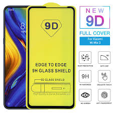 10pcs/lot 9D <b>Full Glue Cover</b> Tempered <b>Glass</b> for Xiaomi Mi 9 ...