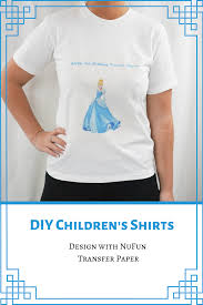 Create Your Own Iron On Design Create Your Own Clothes For Your Kids Or For A Gift Using