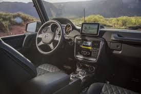 However, the interior is a different story. Last Chance To Buy A New Original G Class