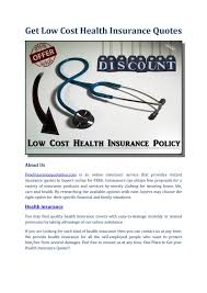 free health insurance quotes low cost health insurancedavidbland issuu