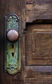 old door greeting card by joanne coyle