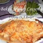 baked ritzy scallops