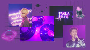 BTS Purple Desktop Wallpapers - Top ...