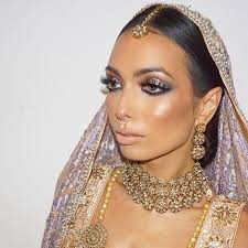 asian bridal demo from my birmingham 5 day pro course next stop london manchester info link in the bio makeupbyme ginabadhen check out what my