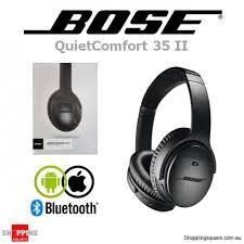 bose 35 ii. bose quietcomfort 35 ii wireless bluetooth noise cancelling headphones black ii