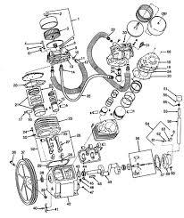 Air pressor pump parts 3z493a