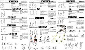 workout exercises list pdf health fzl99