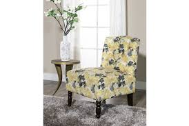priscilla yellow accent chair  living spaces