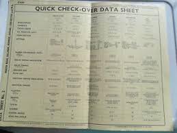 Details About Lanchester Sprite 1956 Data Chart Pub Restaurant Garage Cafe Display