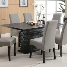 black wood dining room sets. Coaster Fine Furniture Stanton Wood Dining Table Black Room Sets I