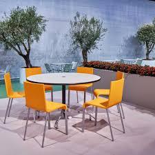 Vitra 03 Stuhl Nicht Stapelbar Gestell Silber Ambientedirect